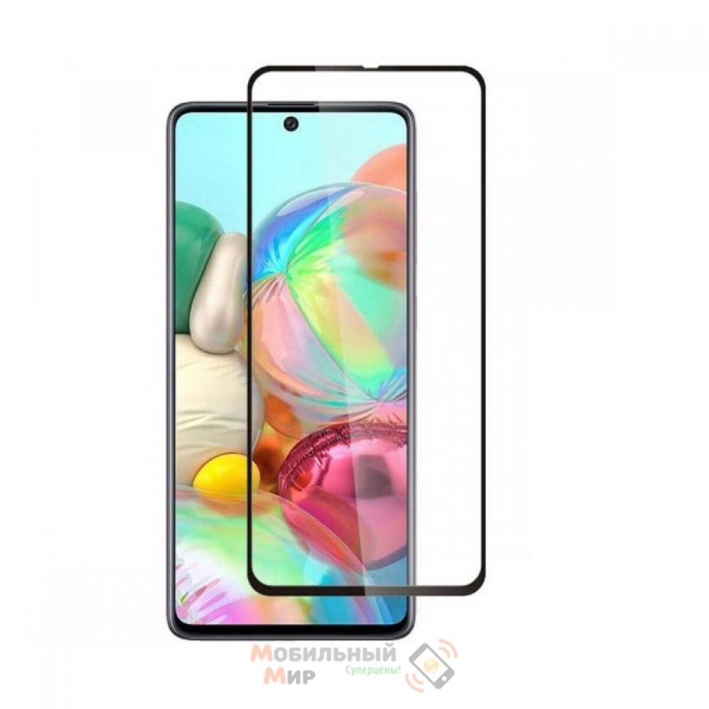 Защитное стекло iNavi для Samsung A71/M515 2020 Black