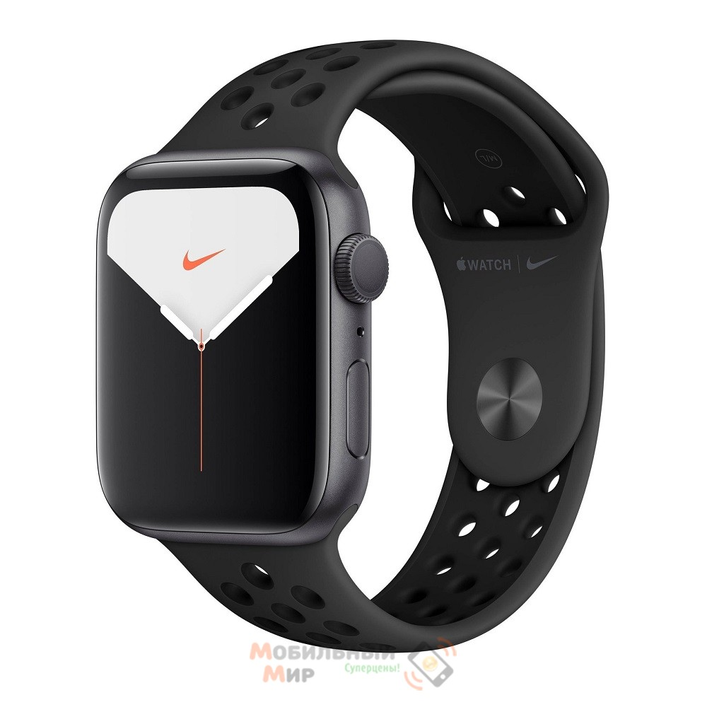 Смарт-часы Apple Watch Nike Series 5 GPS 40mm Space Grey Aluminium Case with Anthracite/Black Nike Sport Band (MX3T2GK)