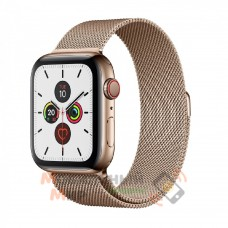 Смарт-часы Apple Watch Series 5 GPS+LTE 44mm Gold Stainless Steel Case with Gold Milanese Loop (MWW62, MWWJ2)