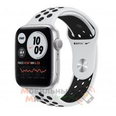Смарт-часы Apple Watch Nike Series 6 40mm Pure Platinum/Black (M00T3)