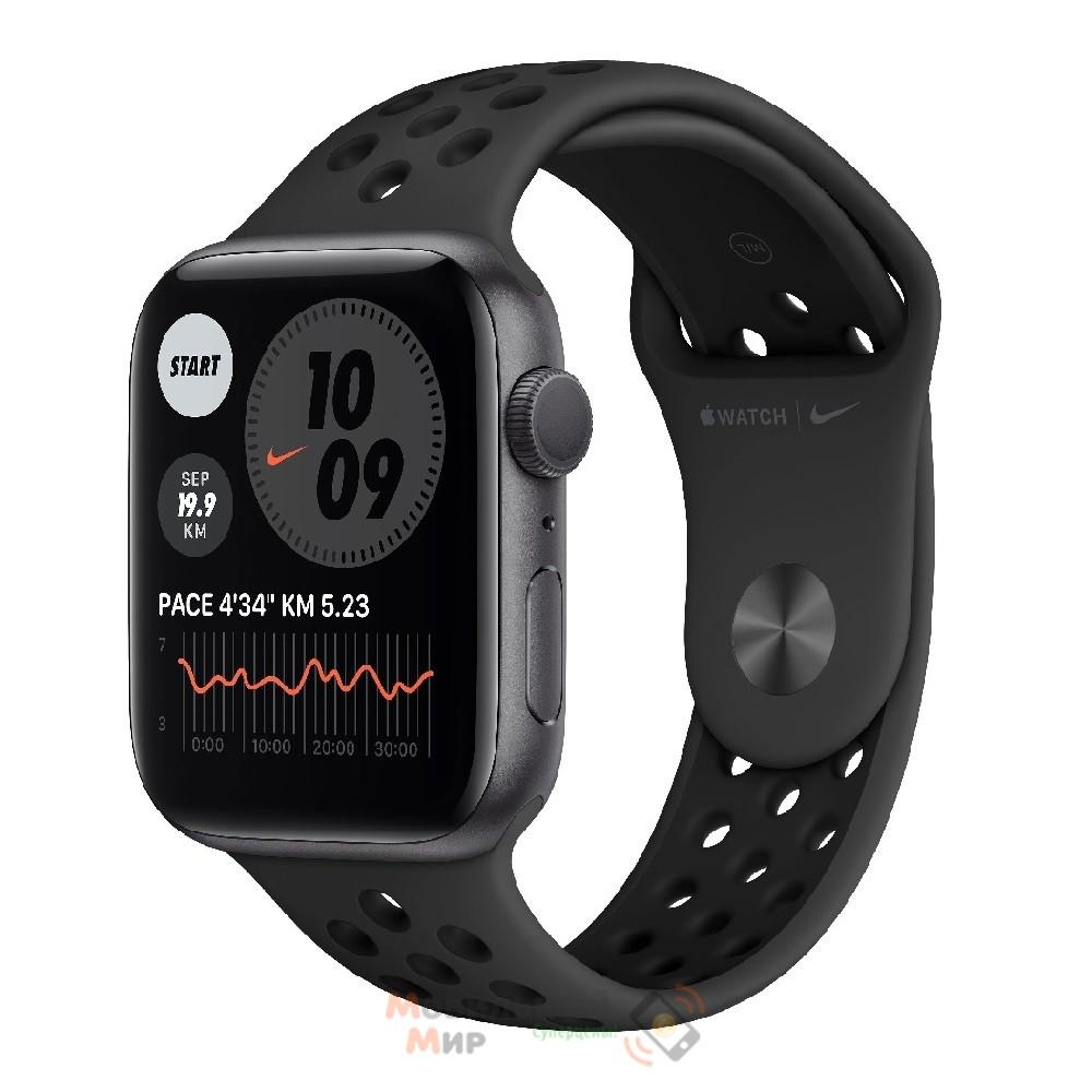 Смарт-часы Apple Watch Nike SE GPS 44mm Space Gray Aluminium Case with Anthracite/Black Nike Sport Band (MYYK2)