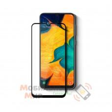 Защитное стекло Full Glue для Samsung A10/A10s/M10 5D Black