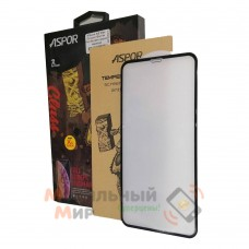 Защитное стекло Gorilla Full Screen Aspor для iPhone XS Max/11 Pro Max 5D Black