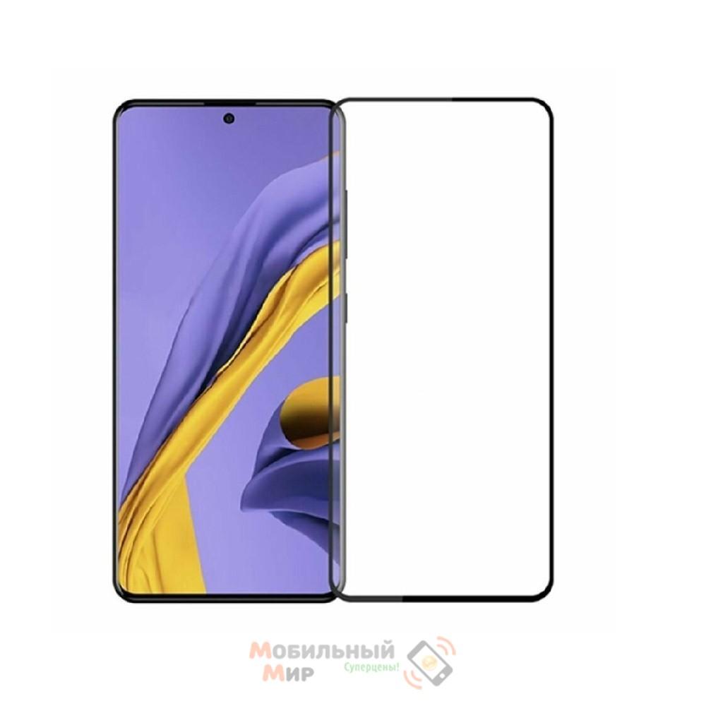 Защитное стекло Lion Full Glue для Samsung A51/A515 5D Black
