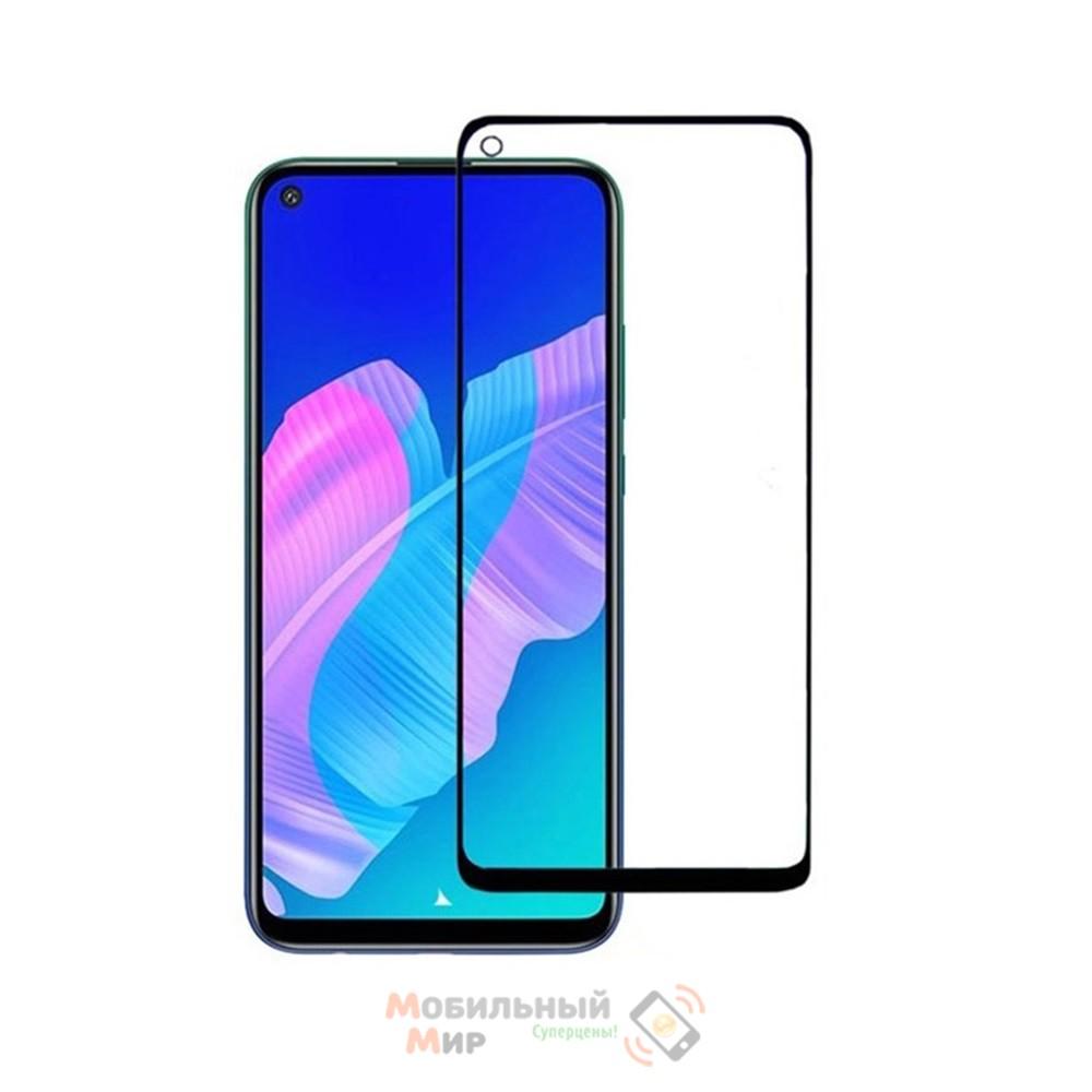 Защитное стекло Lion Full Glue для Huawei P40 Lite E 20205DBlack