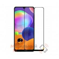 Защитное стекло Lion Full Glue для Samsung A31/A315 2020 5D Black