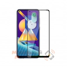 Защитное стекло 5D Lion Full Glue для Samsung M11/M115 2020 Black
