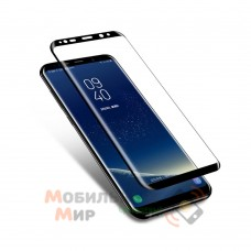 Защитное стекло 9D Flexible Ceramics для Samsung S8 Plus G955 Black