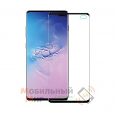 Защитное стекло 9D Flexible Ceramics для Samsung S10 Plus G975 Black