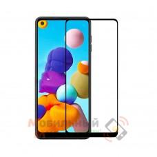 Защитное стекло 5D King Kong для Samsung A21S/A217 2020 Black