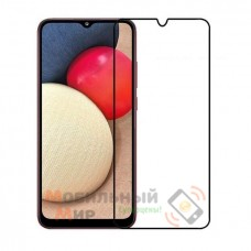 Защитное стекло 5D Lion Full Glue для Samsung A02s/A025 2021 Black