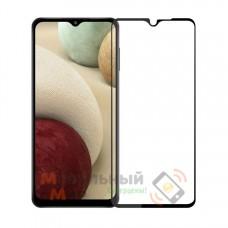 Защитное стекло 5D Lion Full Glue для Samsung A12/A125 2021 Black