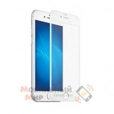 Защитное стекло 5D Premium iPhone 7/8 White