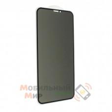 Защитное стекло Privacy Glass для iPhone X/XS/11 Pro Black